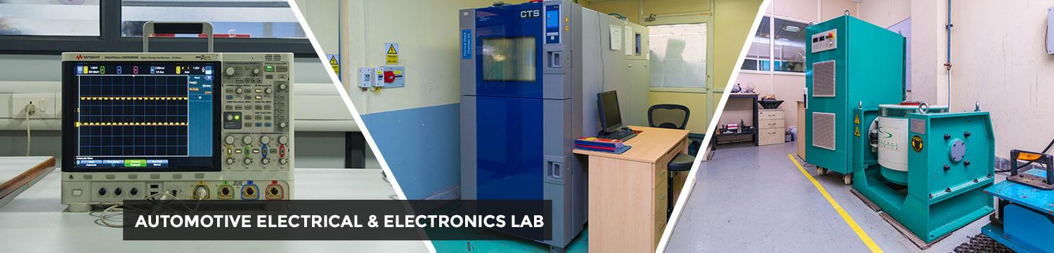 Automotive Electrical and Electronics Lab